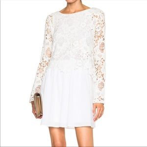 See by Chloe, Lace Top Flare dress, size 36(4US)